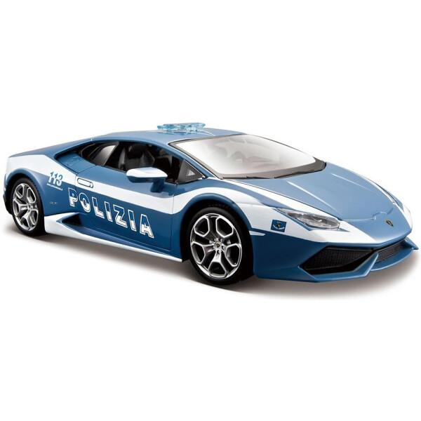Модель автомобиля MAISTO 1:24 - Ламборгини Хурикан Полиция (31 511)