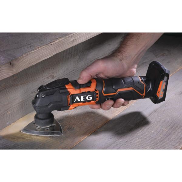 Многофункциональный инструмент AEG Powertools BMT12C (4935464030 без АКБ и ЗУ)