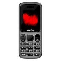 270x270-Мобильный телефон NOBBY 101 (серый/черный)