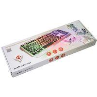 Клавиатура Nakatomi Gaming KG-35U SILVER