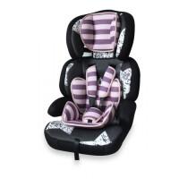 270x270-Детское автокресло LORELLI JUNIOR PREMIUM 9 - 36 кг Pink Black Stars