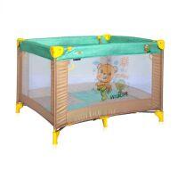 270x270-Манеж LORELLI Play Beige&Green Honey Bear
