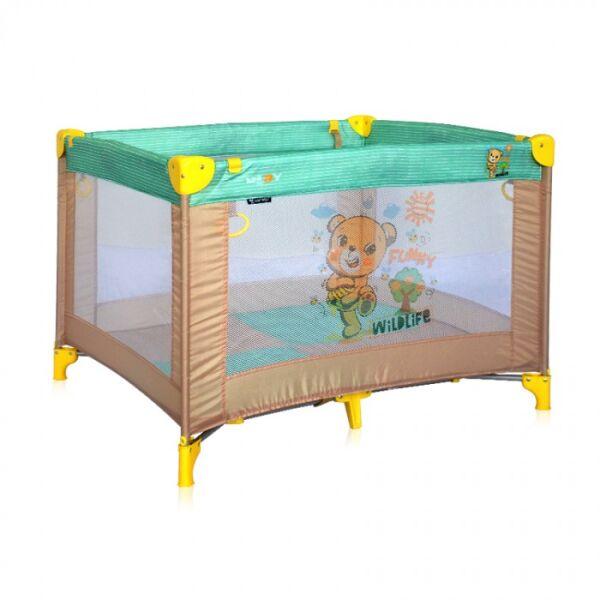 Манеж LORELLI Play Beige&Green Honey Bear