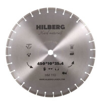 270x270-Алмазный диск Hilberg HM110 450*25,4*12