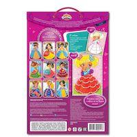 Набор для детского творчества DALIS раскраска из пластилина Кукла Аня (МС-201)