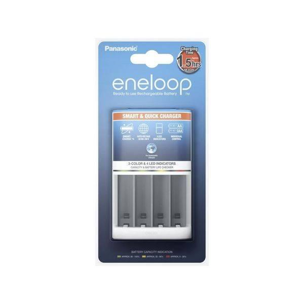 Зарядное устройство PANASONIC BQ-CC55E Smart & Quick