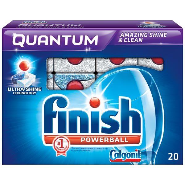 Моющее средство для пмм RECKITT BENCKISER FINISH Quantum Powerball 20шт