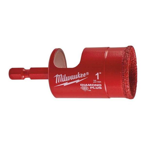 Алмазная коронка MILWAUKEE Diamond Plus 25 мм (49560517)