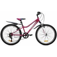 Велосипед Favorit Juli Pro 24 V (сиреневый)