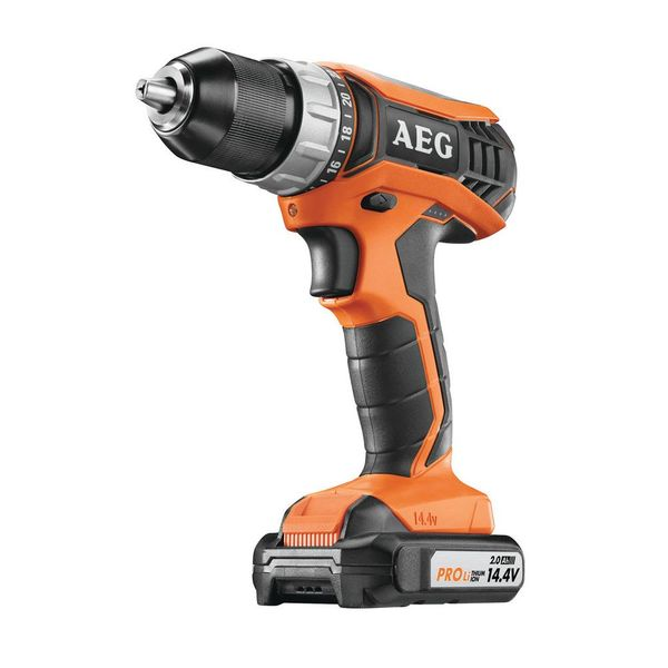 Шуруповерт AEG Powertools BS 14G3 LI-202C с АКБ и ЗУ (4935451093)