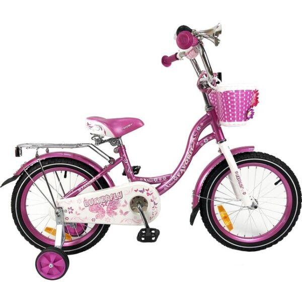 Детский велосипед Favorit Butterfly 18 (фиолетовый)
