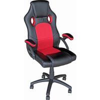 270x270-Кресло Mio Tesoro Дино X-2706 (черный/красный)