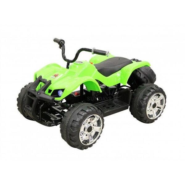 Электроквадроцикл SANDAYS Beach Car BJ207 (зеленый)