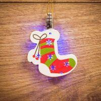 270x270-Елочная игрушка Neon-night Новогодний носок (501-099)