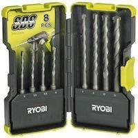 270x270-Набор сверл Ryobi RAK08SDS SDS-Plus (5132002262)