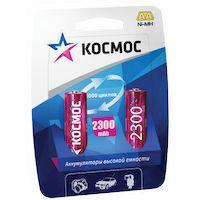 Аккумуляторы КОСМОС AA 2300mAh NI-MH (2 шт.)