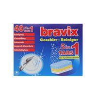 270x270-Моющее средство для пмм DRECO Bravix 5 в 1 (40шт/20гр.)