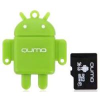 270x270-Комплект QUMO MicroSD 16GB CL 10 + USB картридер зеленый (QM16GCR-MSD10-FD-GRN)