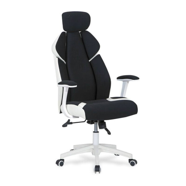 Кресло Halmar Chrono (черный/белый)