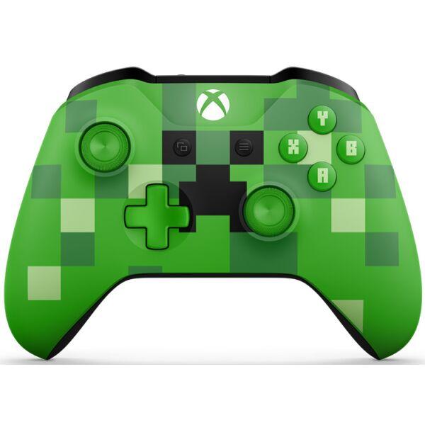Геймпад Microsoft Xbox One Minecraft Creeper (WL3-00057)