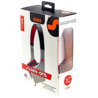 270x270-Наушники VIBE SLICK ON EAR HEADPHONES Grey/White/Red