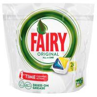 270x270-Средство для мытья посуды в капсулах для посудомоечных машин FAIRY All in 1 Лимон 24шт