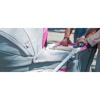 Коляска Coletto Verona Classic V-06 (розовый/серый)
