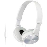 270x270-Наушники с микрофоном Sony MDR-ZX310AP (Белые)