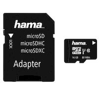 Карта памяти microSDHC Hama 124138 (16Гб)