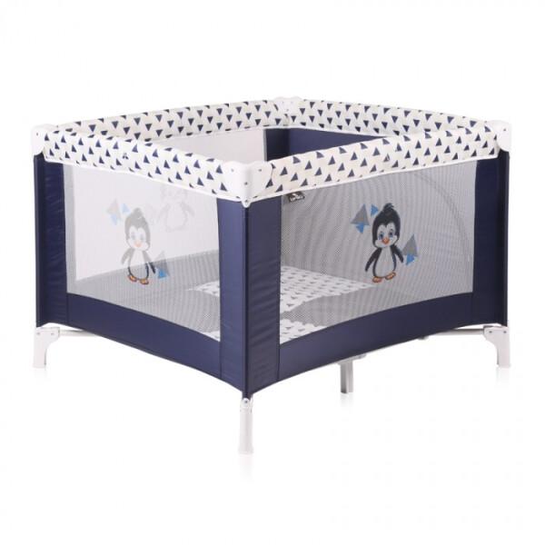 Детский манеж LORELLI Play Station (Blue&White Pinguin)