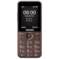 270x270-Сотовый телефон PHILIPS Xenium E331 коричневый