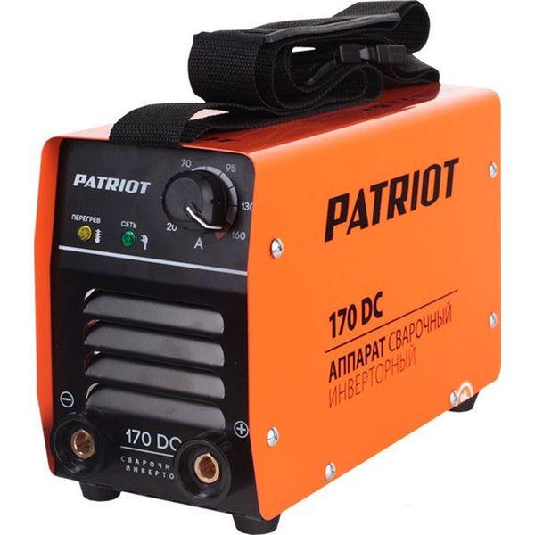 Сварочный инвертор Patriot 170DC MMA