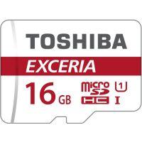 270x270-Карта памяти Toshiba SDHC-micro Card 16Gb M302 Class 10 UHS-I + adapter (THN-M302R0160EA)