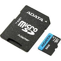 270x270-Карта памяти A-DATA Premier AUSDX64GUICL10A1-RA1 microSDXC 64GB