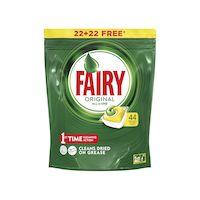 270x270-Средство для мытья посуды в капсулах для посудомоечных машин Fairy All in One Lemon (22+22 шт)