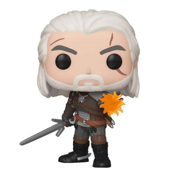 Фигурка Funko POP! Vinyl: Games: Witcher: Geralt (GW) (Exc)
