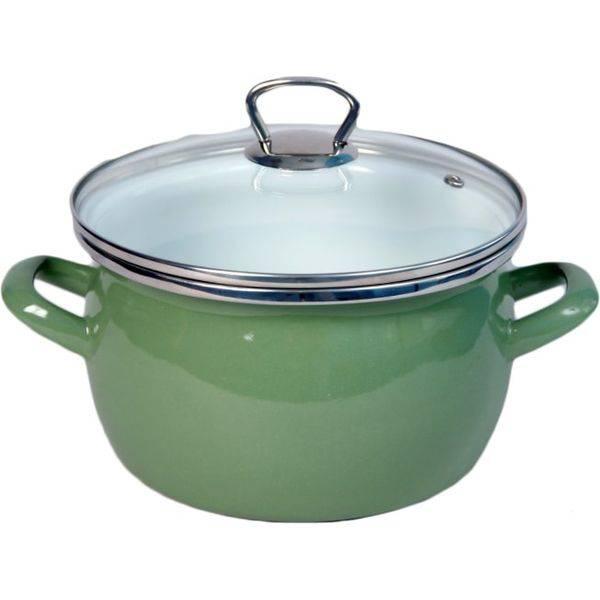 Кастрюля Сантэкс 1-2440111 (зеленый)
