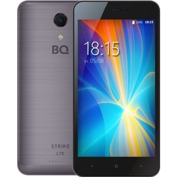 Смартфон BQ Strike LTE Темно-Серый Шлифованный (BQ-5044)