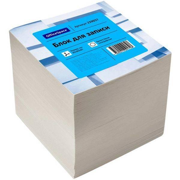 Блок бумажный СПЕЙС 239037
