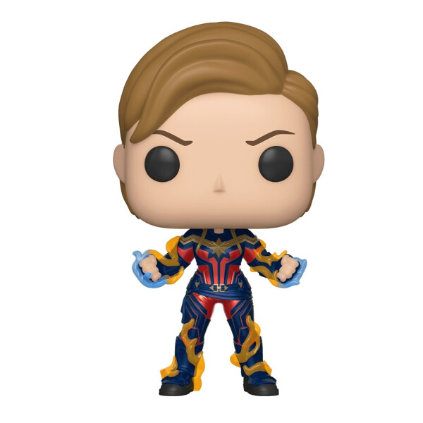 Фигурка Funko POP! Bobble: Marvel: Avengers Endgame: Captain Marvel w/New Hair