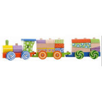 Конструктор Eco Toys Поезд (2009)