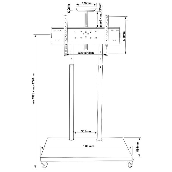Подставка для теле- и радиоаппаратуры ELECTRICLIGHT МСТ-5-Г