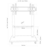 Подставка для теле- и радиоаппаратуры ELECTRICLIGHT МСТ-4-Г