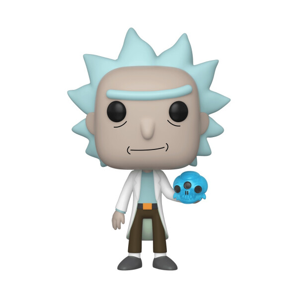 Фигурка Funko POP! Vinyl: Rick & Morty: Rick w/Crystal Skull