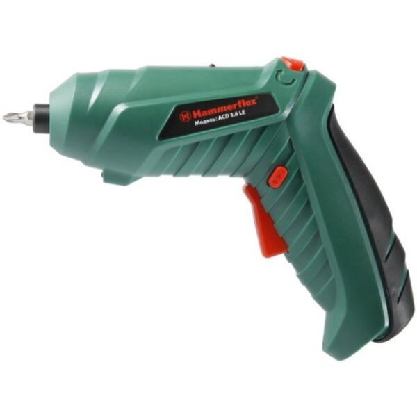 Отвертка аккумуляторная Hammer Flex ACD3.6LE
