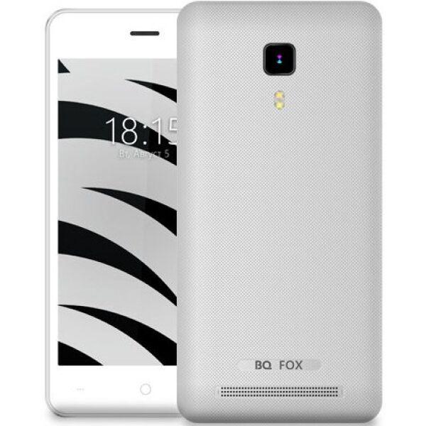 Смартфон BQ-Mobile Fox серебристый (BQ-4526)
