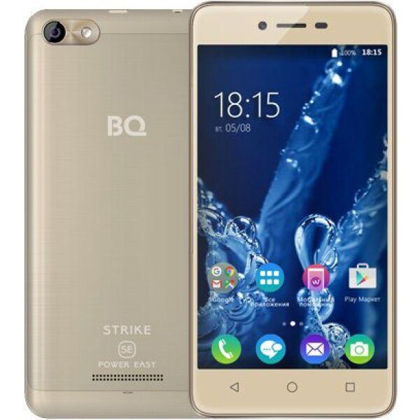 Смартфон BQ Strike Power Easy SE Золотой Матовый (BQ-5058)