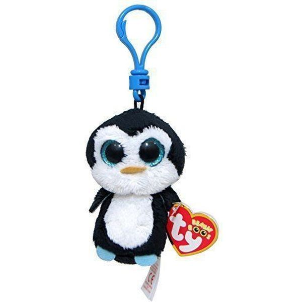 Мягкая игрушка на брелоке TY INC Пингвин Waddles (36505)