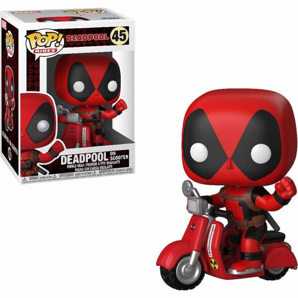 Фигурка Funko POP! Rides: Deadpool: Deadpool & Scooter