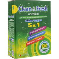 270x270-Порошок для ПММ CLEAN&FRESH 5 в 1
